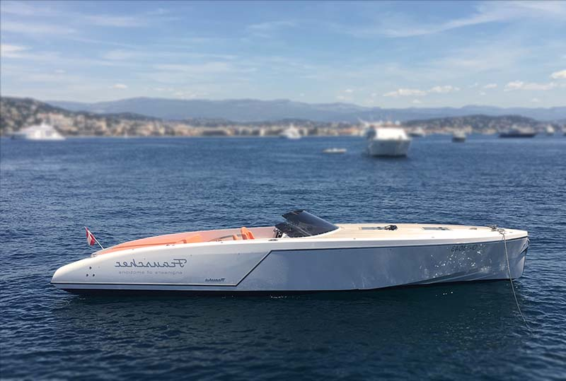 Frauscher 10.17 boat rental Cannes